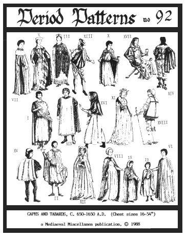 Populair Patronen historische kleding : Merlins Cave, Webstore &RB59