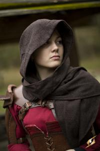 Cowl Altair, donkerbruin
