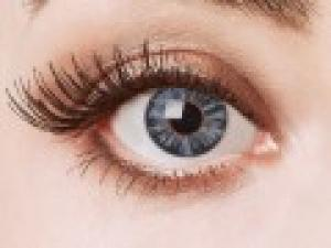 "Contactlens ""Big eyes dolly"", blauw"