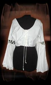 Blouse met veters